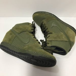 Nike DUNK SKY HI wedge ESSENTIAL ROUGH GREEN 9